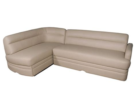 rv couches villa l sectional glastop inc
