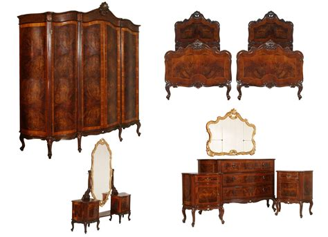 Antiques Bedroom Furniture Antique Bedroom Sets Baroque Chippendale 1940s