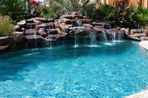 Fun Home Decor Ideas Cypress Custom Pools Tropical Pool Houston By
