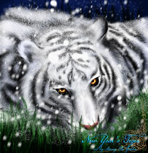 new year tiger new year s tiger by rudranee on deviantart