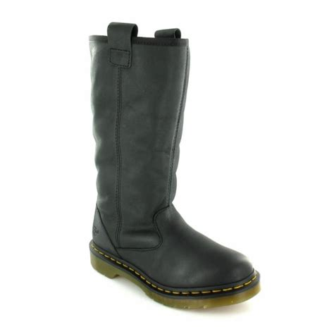 dr martens dr martens womens leather pull on mid