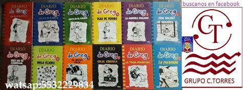coleccion libros regalo el 8466764968 colecci 243 n diario de greg 12 libros 1 808 00 en mercado libre