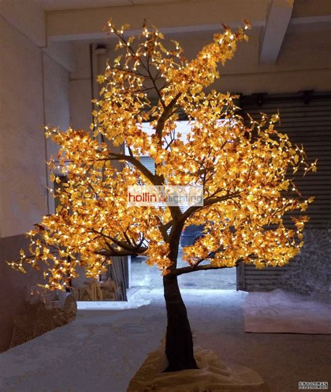 high quality led christmas tree light maple hl mt026