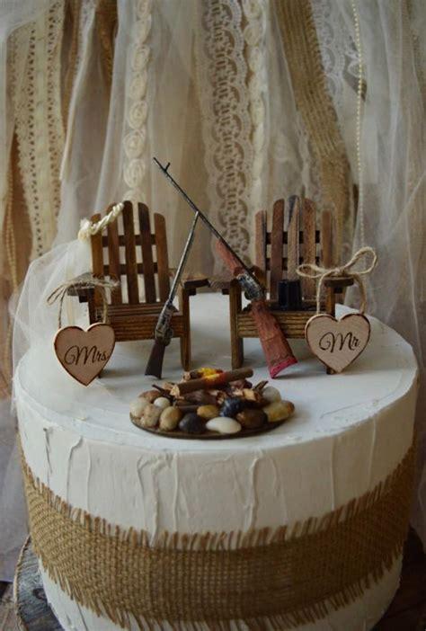 Hochzeitstorte Jagd by Gun Riffle Wedding Cake Topper Gun Deer