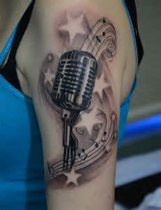 mic tattoos microphone tattoos designs ideas and meaning tattoos for you