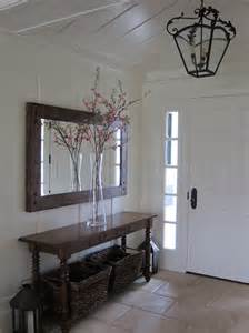Entryway Table With Mirror 18 Entryways With Captivating Mirrors