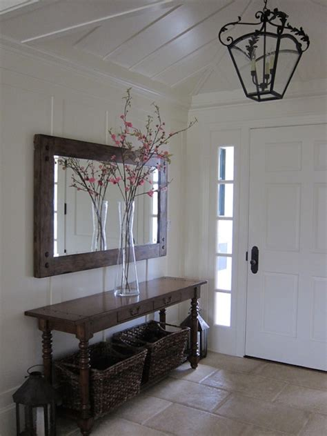 Foyer Wall by 18 Entryways With Captivating Mirrors