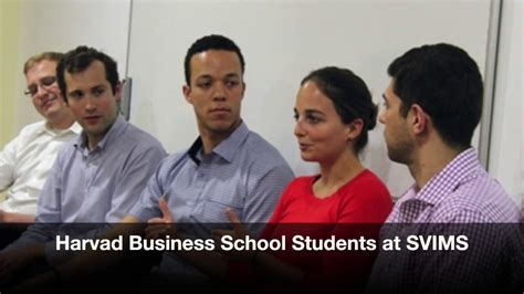 What Schools Do Harvard Mba Students Come From by Harvard Business School Students At Svims