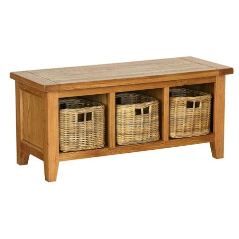 Storage Bench With Drawers Pembroke Storage Bench With 3 Basket Drawers Bath From Nicholls Uk