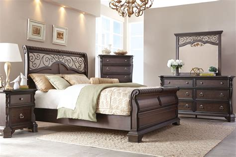 5 piece king bedroom set elvira 5 piece king bedroom set at gardner white