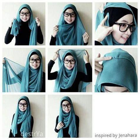tutorial segi empat velvet hijab styles hijabs and hijab tutorial on pinterest
