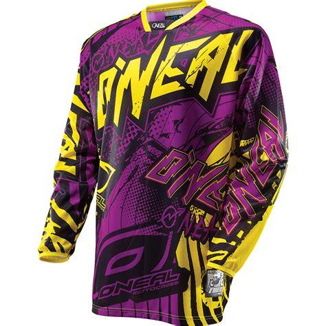 purple motocross gear oneal 2014 hardwear automatic mx shirt mtb bike off road