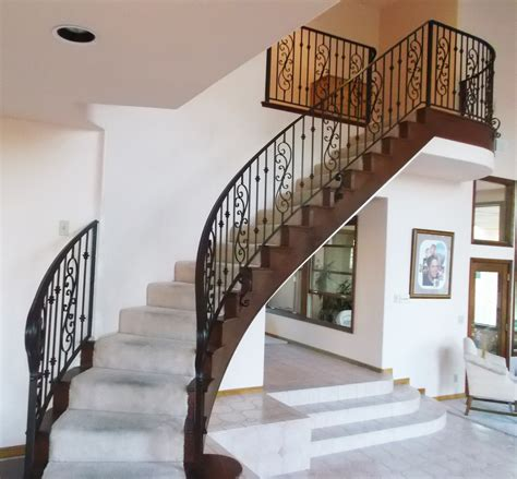 home interior railings marvelous interior metal stair railing 8 interior iron