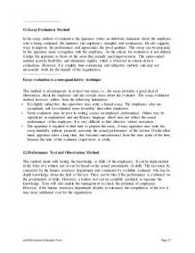 retail sales associate performance appraisal
