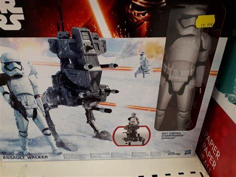 Starwars Assault Walker Marcheur Dassaut Hasbro quoi de neuf en magasin stokomani toys r us et gifi actualit 233 s collection wars