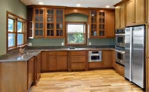 U Shaped Kitchen Layouts With Island kitchen remodel in mn features large island with storage