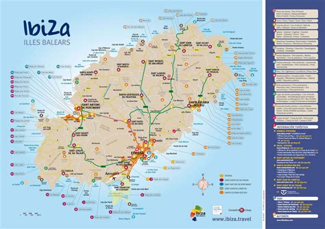 0004488962 carte touristique ibiza and info ibiza carte