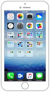 iphone 6 home screen what s on my iphone get a personal look at my iphone 6
