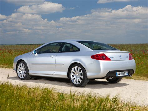 peugeot 407 coupe peugeot 407 coupe technical details history photos on