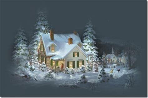 imagenes bonitas de paisajes de navidad im 225 genes de paisajes nevados para navidad