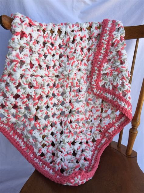 Crochet Baby Blanket Bernat by Softest Baby Crochet Blanket Afghan Bernat Baby Yarn