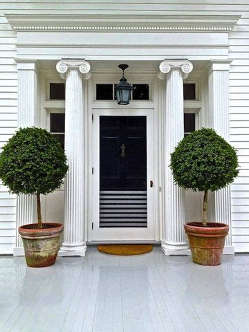 front porch trees potted trees for front porch outdoor decor