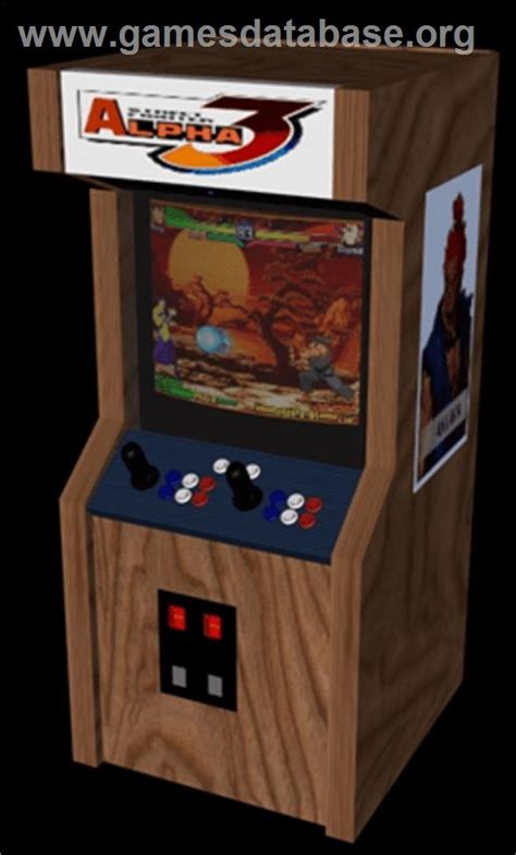 street fighter 3 cabinet street fighter alpha 3 arcade games database