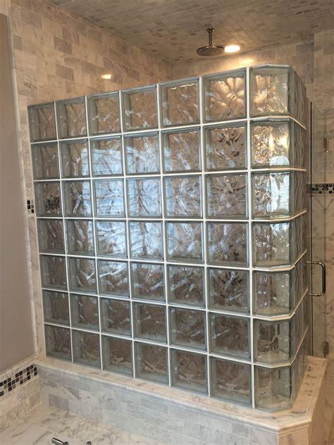 installing glass block windows bathroom glass block shower installation glass blocks st louis