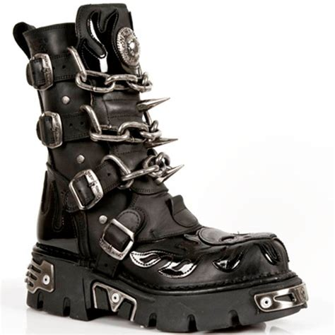 rock boots for new rock boots mens style 727 s1 black ebay