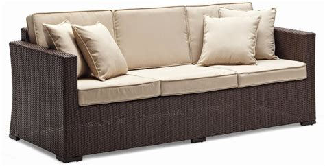 rattan outdoor sofa outdoor outdoor wicker
