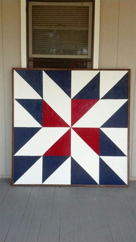 Barn Quilt Pattern by Barn Quilt Created In Washington Kansas Visit Like Our