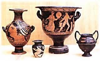 vasi apuli museo archeologico provinciale di brindisi