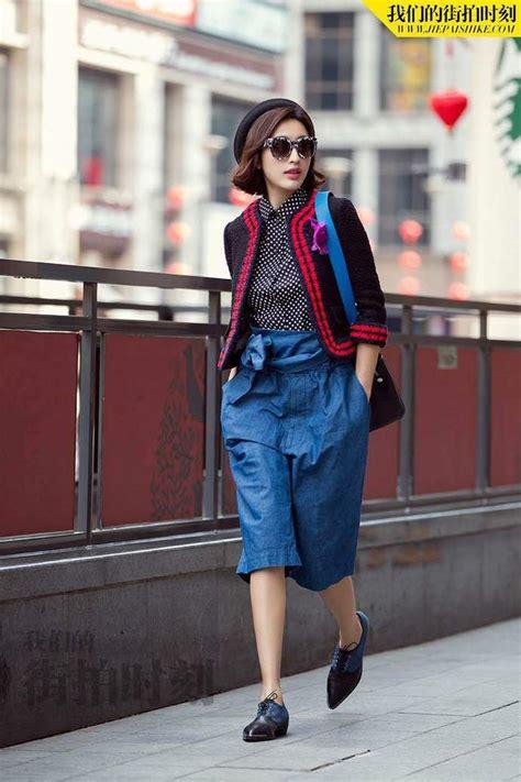 chinese actress zhang li street snaps of actress zhang li china org cn