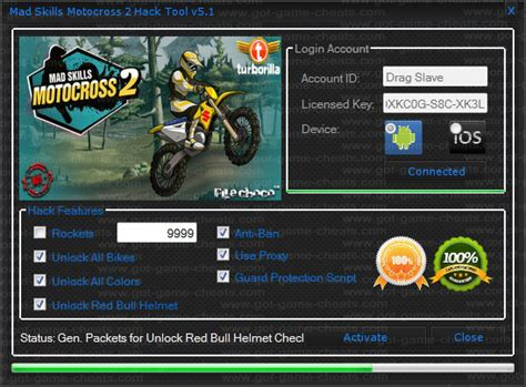 hack mad skills motocross 2 got game cheats com mad skills motocross 2 hack tool v5 1
