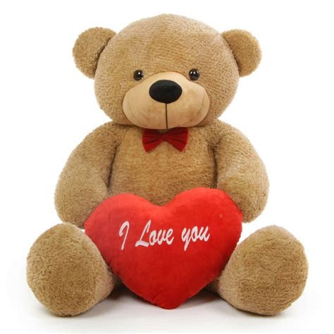 will you be my teddy shaggy l cuddles 48 quot teddy w i you