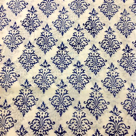 desicrafts indian block print fabric organic cotton fabric by desicrafts
