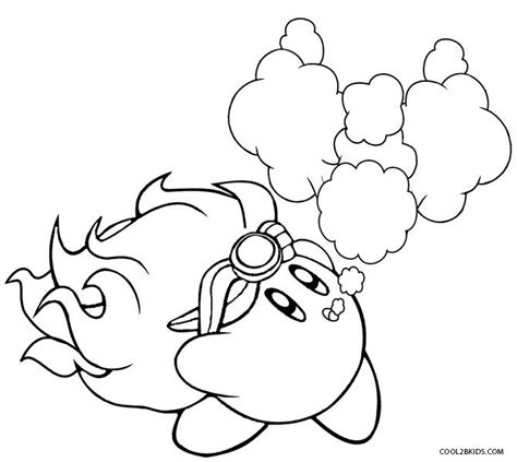 Coloring Page Kirby by Printable Kirby Coloring Pages For Cool2bkids