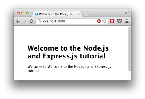 node js exports tutorial tutorial node js and express js part i getting