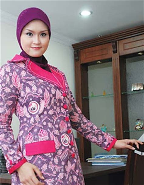 Kb Warna Pink enny fashion indonesia fashion kantor