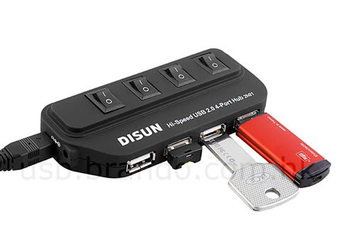 Usb Hub Usb Port Switch On usb 4 port hub with on switch