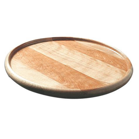 lazy susans shop catskill craftsmen 1 tier wood circle tabletop lazy susan at lowes