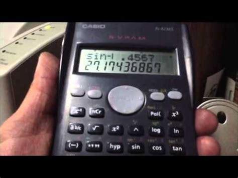 uso de calculadora para trigonometria youtube