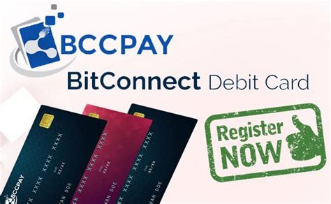 bitconnect since bitconnect debit card register now use card worldwide
