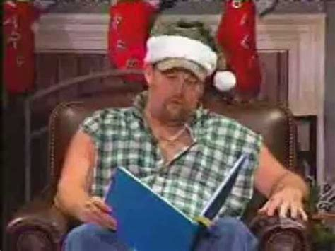 twas  night  christmas larry  cable guy style youtube