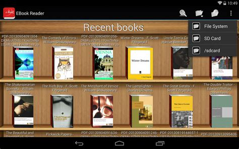 ebook reader pdf reader android apps on play - Android Epub Reader