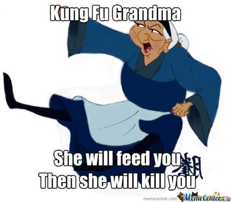 Fu Memes - kung fu grandma by ben22 meme center