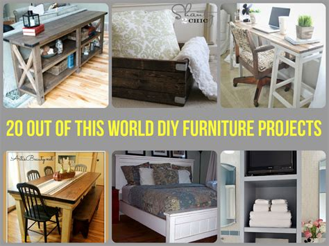 world diy furniture projects