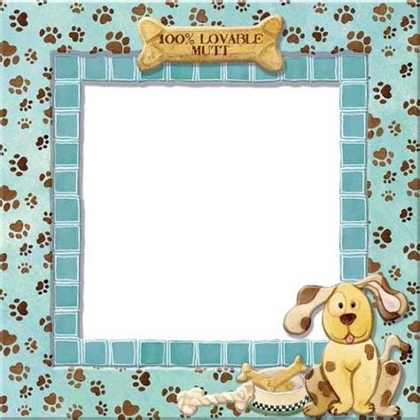 puppy frames frame clipart pencil and in color frame clipart