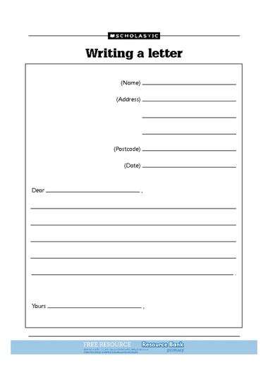 Child Letter Template Letter Template For Kids Doliquid
