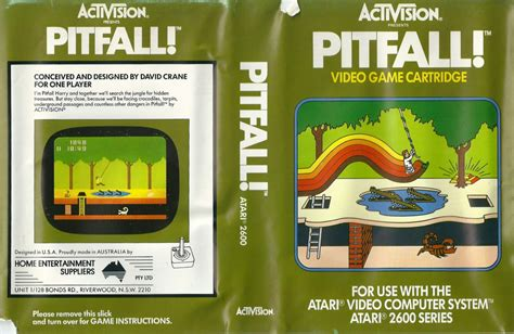 adventure the atari 2600 journal books atari 2600 vcs pitfall scans dump